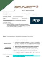 Proyecto 13 Anuario de Autobiografías 3 Grado v Bim.