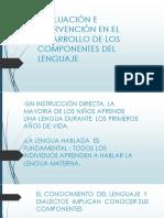 EVALUACIÓN E INTERVENCIÓN EN EL DESARROLLO DE LOS EXPOSICION PROFE GABI 12 -11-17.pptx
