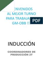 Inducción Coord. Producción 2T