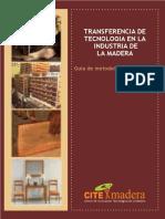 Guia Transferencia de Tecnologia en La Industria de La Madera