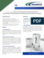 Tuberia y Accesorios Agua Potable AMANCO