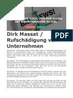 Dirk Massat. Rufschädigung von Unternehmen