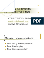 Evaluasi System Surveylance