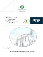 Five-Year Annual Transmission Capability Statement (2017-2021)