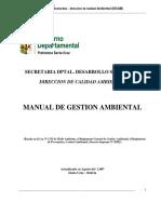 Manual Gestion Ambiental