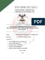 Informe 1 Ley de Contrataciones