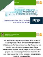 Atencion Integral de La Violencia II