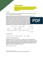 Determinación de Entalpías de Rxn y de Formación