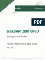 2014-0404 Emerald DLF Presentation