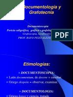 Grafotecnia y Documentologia