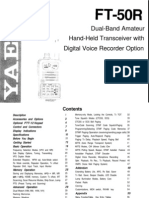 Yaesu FT-50 Instruction Manual