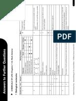 Advanced Bio for You T1 FQ Mark Scheme