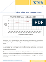 The Hass Property Index Q3.9 Report