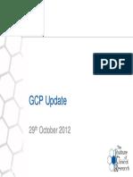 06 GCP STEERING COMMITTEE~GCP Update 29 Oct 12