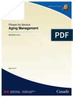 REGDOC 2 6 3 Fitness for Service Aging Management Eng