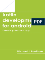 (Create Your Own App)-Kotlin Development for Android-Independently