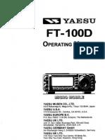 Yaesu FT-100D Operating Manual