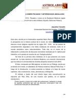 Vassallo, Jaqueline. Una Nueva Mirada Sobre Pecados y Heterodoxos Andaluces.