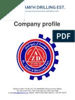 Al Zamih Drilling Company Profile.