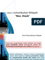 tugas presentasi teori pertumbuhan wilayah neo-klasik
