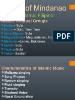 The musical instruments of Mindanao