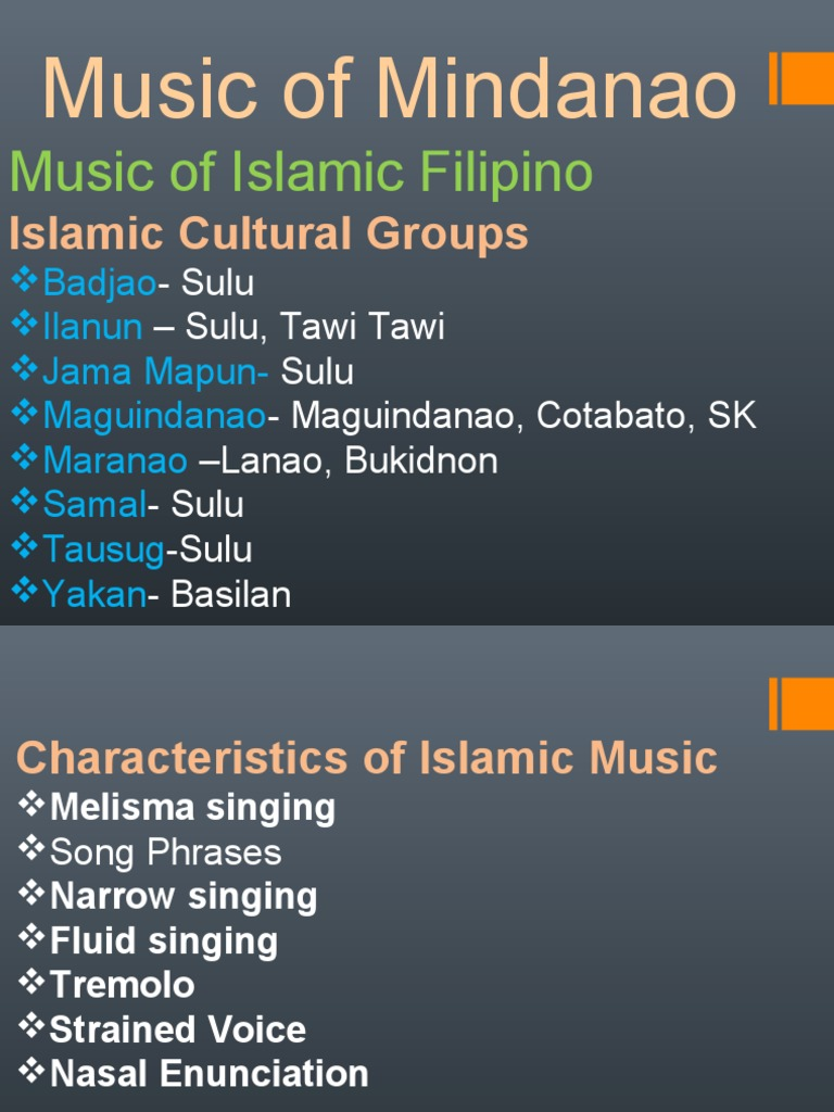the musical instruments of mindanao | music production | music