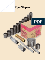 SCI Pipe Nipples Carbon-Stainless-Brass