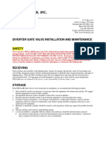 BWSI Diverter Valve IOM