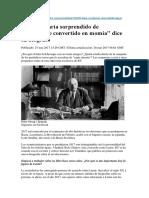 Documento Web (2017!3!27) 'Lenin Estaría Sorprendido de Encontrarse Convertido en Momia' Dice Su Biógrafo
