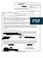 Pentagon Charge Sheets