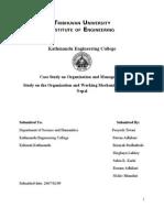 Case Study on FMIS in Nepal