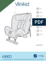 Axkid Minikid Instruction Manual
