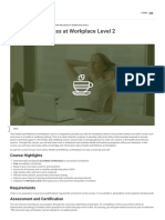 Health and Wellness at Workplace Level 2 Visio Learning