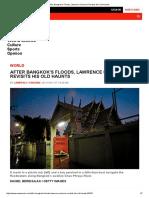 After Bangkok's Floods, Lawrence Osborne Revisits His Old Haunts