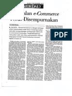 Peta Jalan E-Commerce Terus Disempurnakan