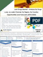 Global Antidepressant Drugs Market