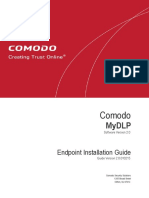 Comodo MyDLP Endpoint Installation Guide