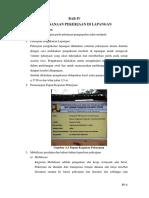 4. Bab IV - Pelaksanaan Pekerjaan Di Lapangan
