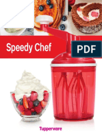 Receitas Speedy Chef Tupperware