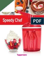 Receitas Speedy Chef Tupperware