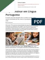 1.o Que Ensinar Em Lingua Portuguesa Novaescola