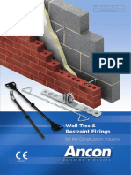 Ancon - Wall Ties and Restraint Fixings