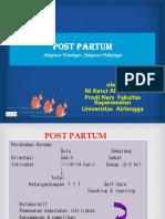 Konsep Post Partum Gasal16