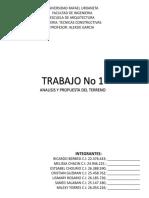 ANALISIS TERRENO #5