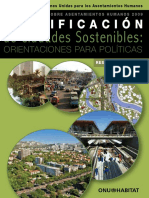Planificación de Ciudades Sostenibles Orientaciones Para Políticas (Planning Sustainable Cities