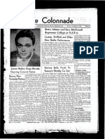 The Colonnade, December 3, 1938