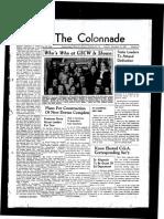 The Colonnade, November 19, 1938