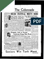 The Colonnade, April 22, 1939
