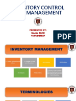 BBP Inventory Managment and Control