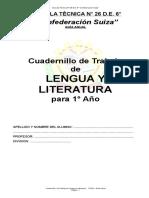 Cuadernillo de Lengua y Literatura 1º Año Versión Final